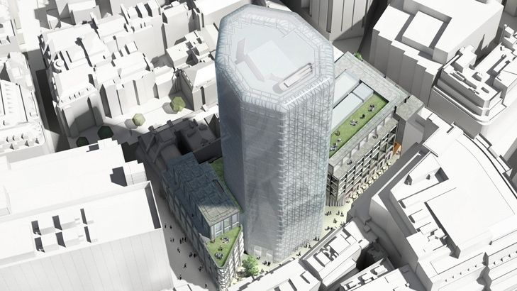 280,000 Square foot commercial tower development in the City