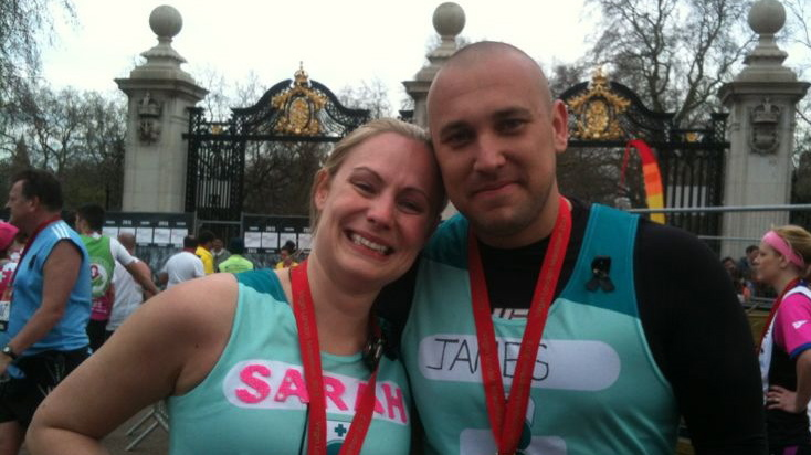 James & Sarah Rowe run London