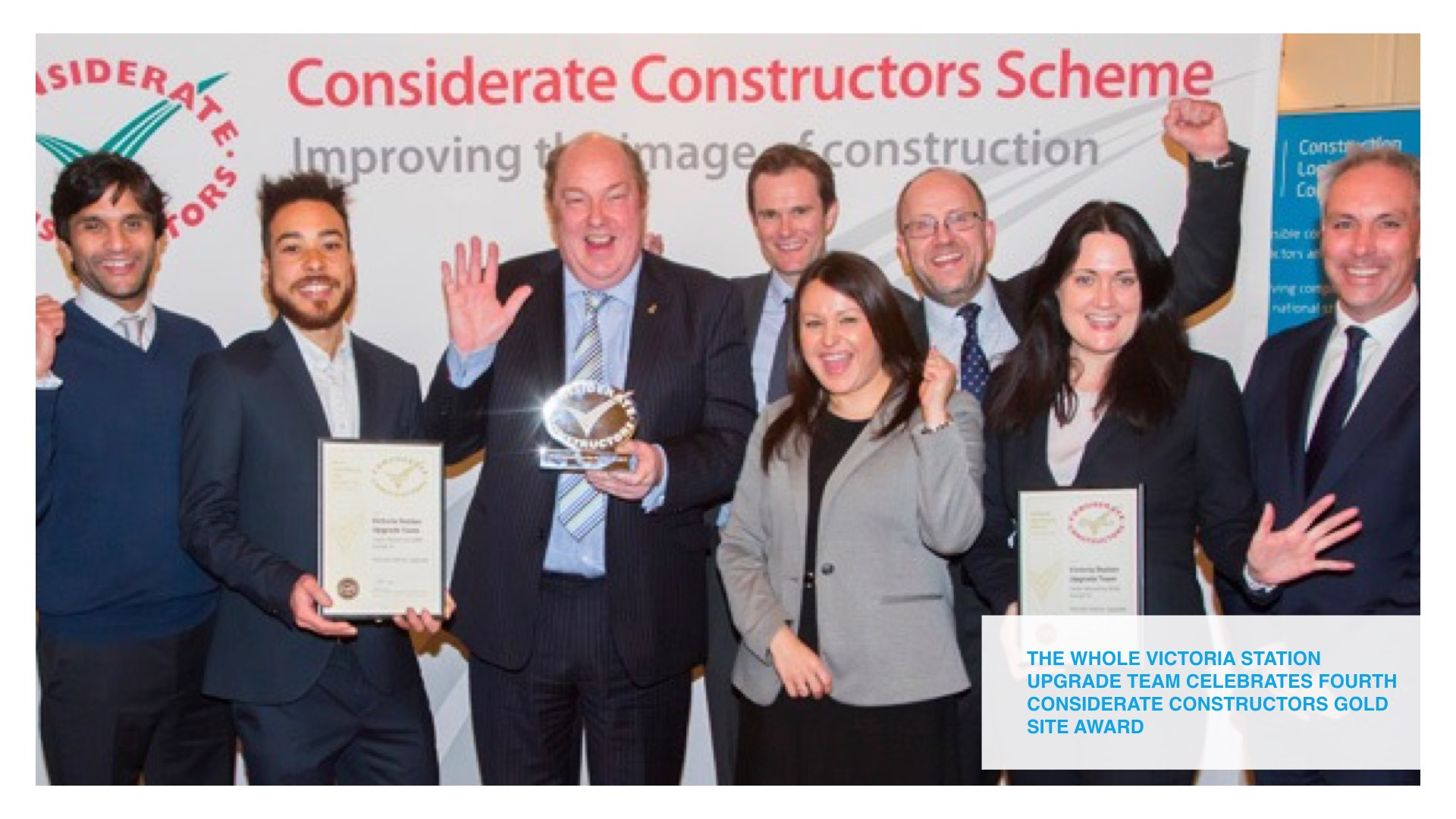 You See You Say helps Victoria Station team to fourth Gold site award