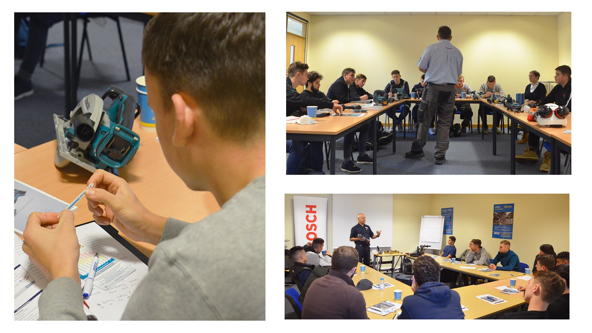 The best power tool training for our apprentices