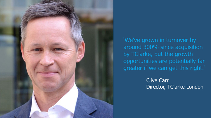 Focus on London - TWO - The rise and rise of TClarke Mechanical
