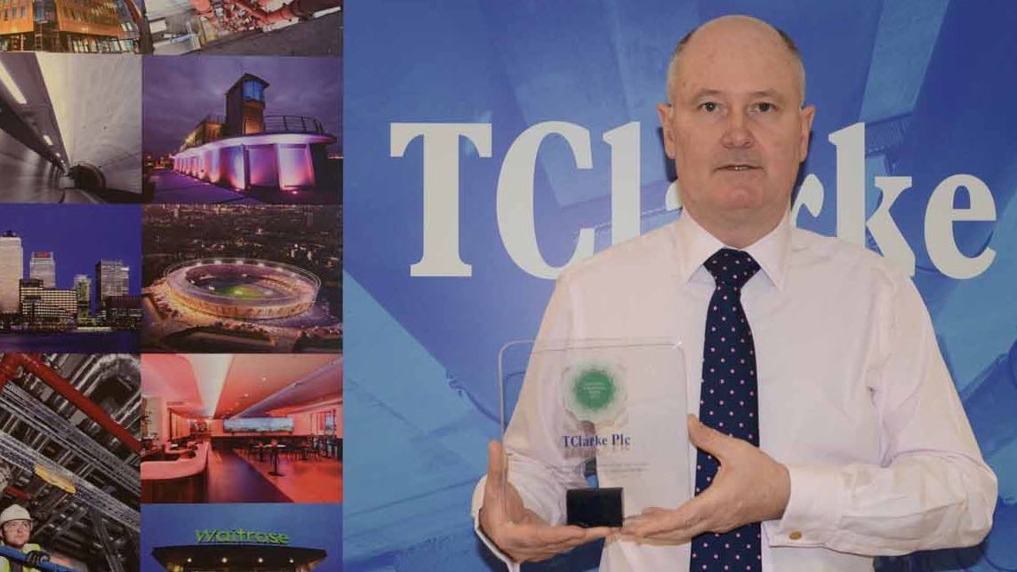 TClarke bags 2015 Fire Systems Award