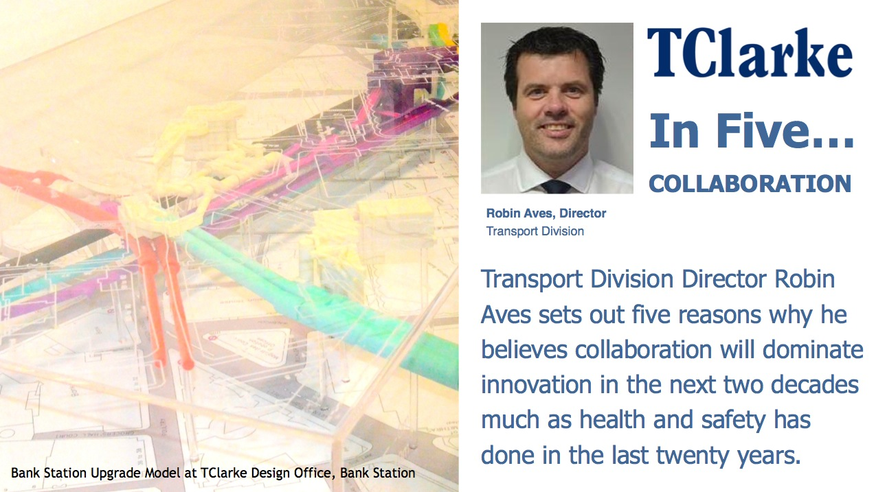 'In 5' COLLABORATION with Transport Director Robin Aves