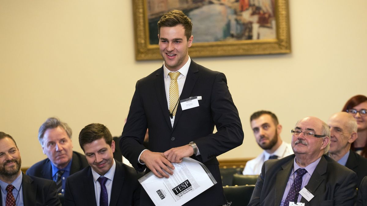 Apprentice Jack Hammond does us proud at House of Commons