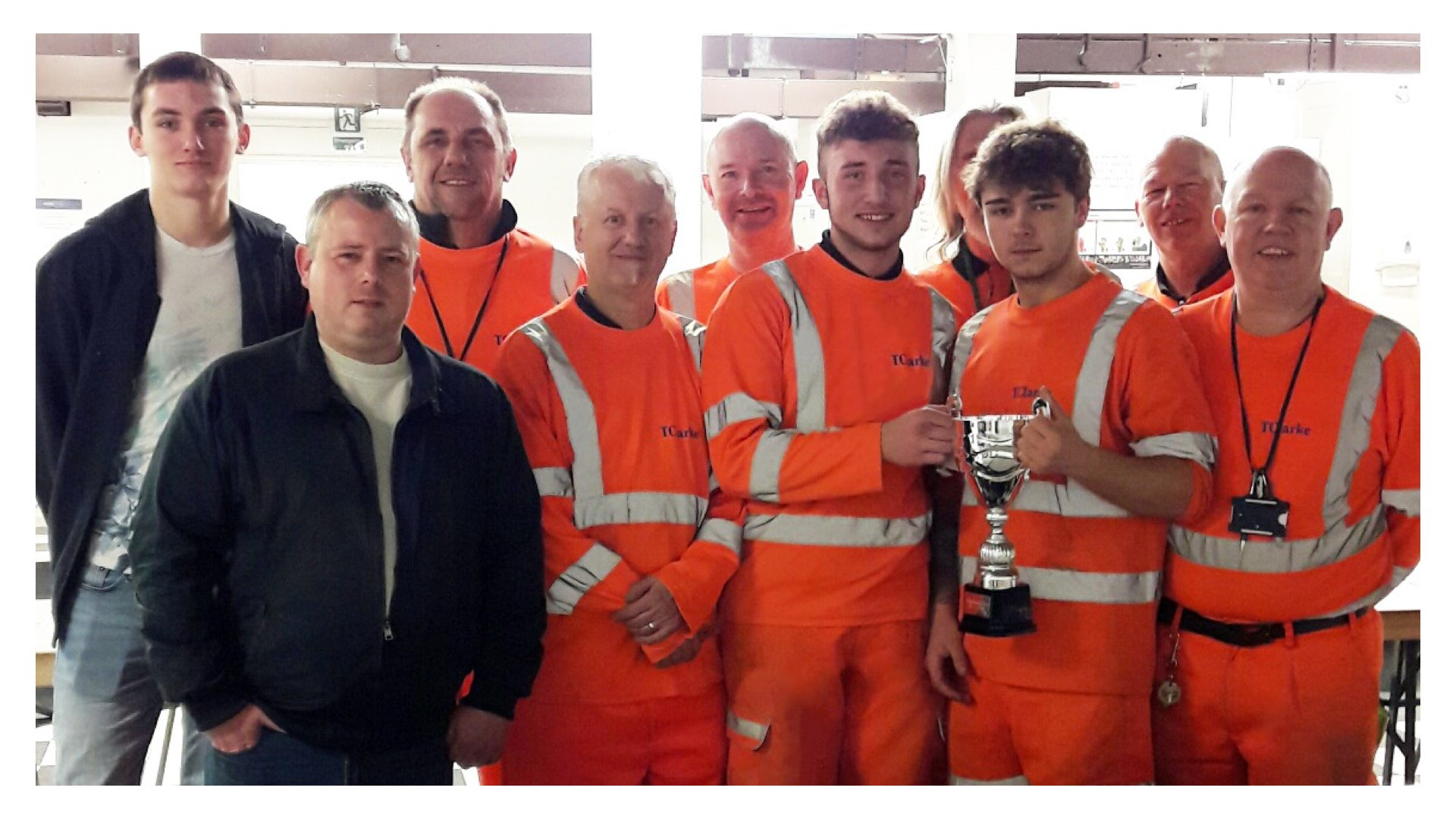 Paddington Bakerloo Link team wins Safety Cup