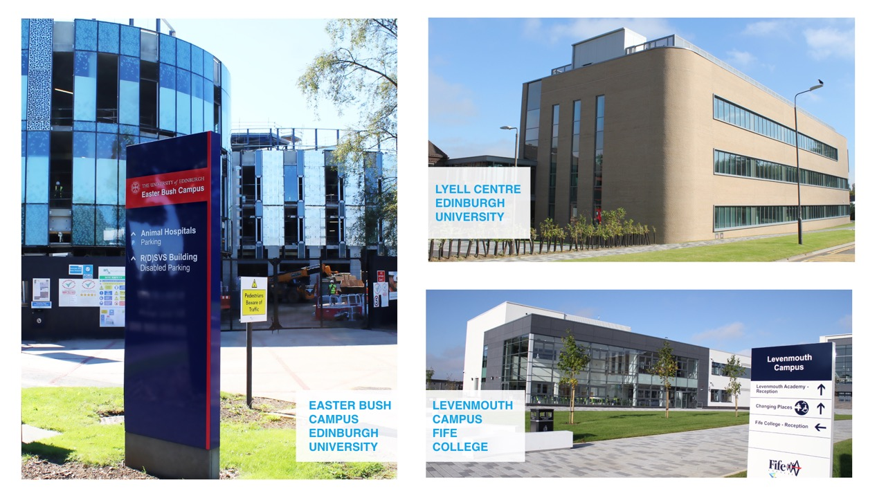 Scotland delivers full building services for trio of education projects