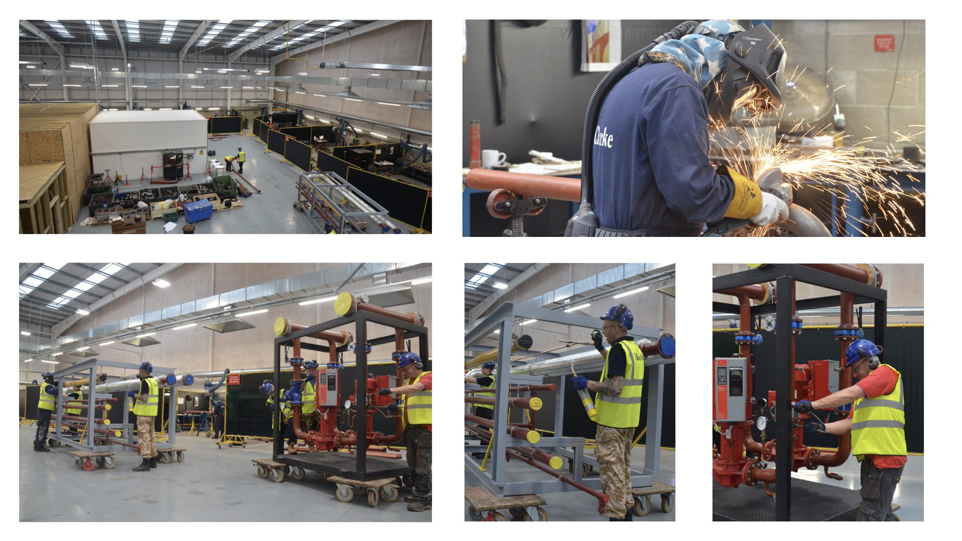 Stansted is TClarke's centre of manufacturing excellence