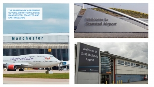 Transport Division selected for Manchester Airport Group 3 year Framework