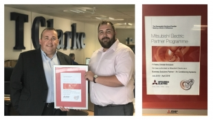 TClarke Climate Solutions : Partner Status achieved with Mitsubishi
