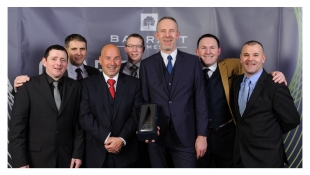 Contractor of the Year - whole Scotland team recognised