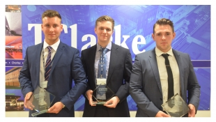 Jake Shorrock is Apprentice of the Year 2017