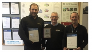 North West wins safety award in nuclear fuels sector