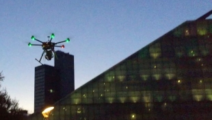 VIDEO : Watch TClarke's survey drone at dawn