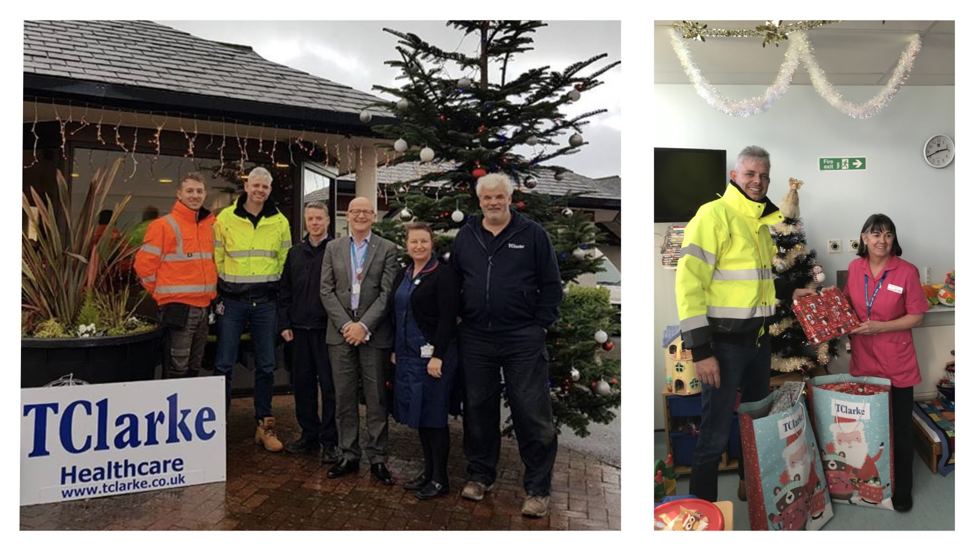 South West team support their local hospitals this Christmas