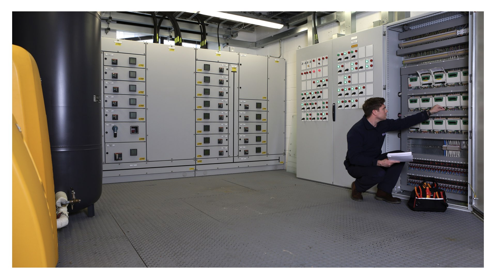 TClarke offers specialist M&E FM services 24/7 nationwide