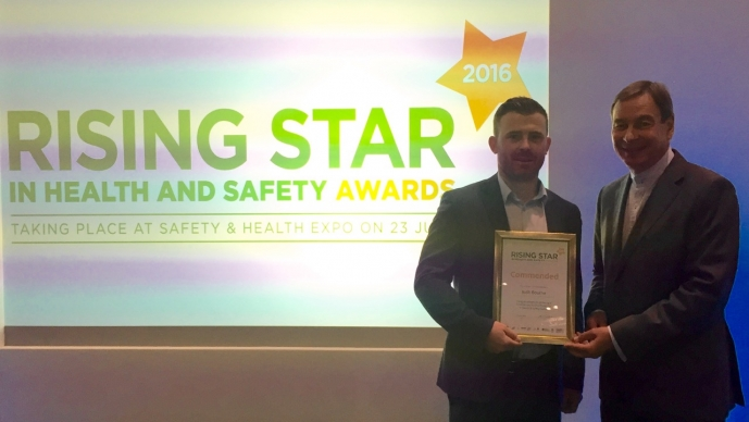 Our own Josh Bourne is Health and Safety 'Rising Star'