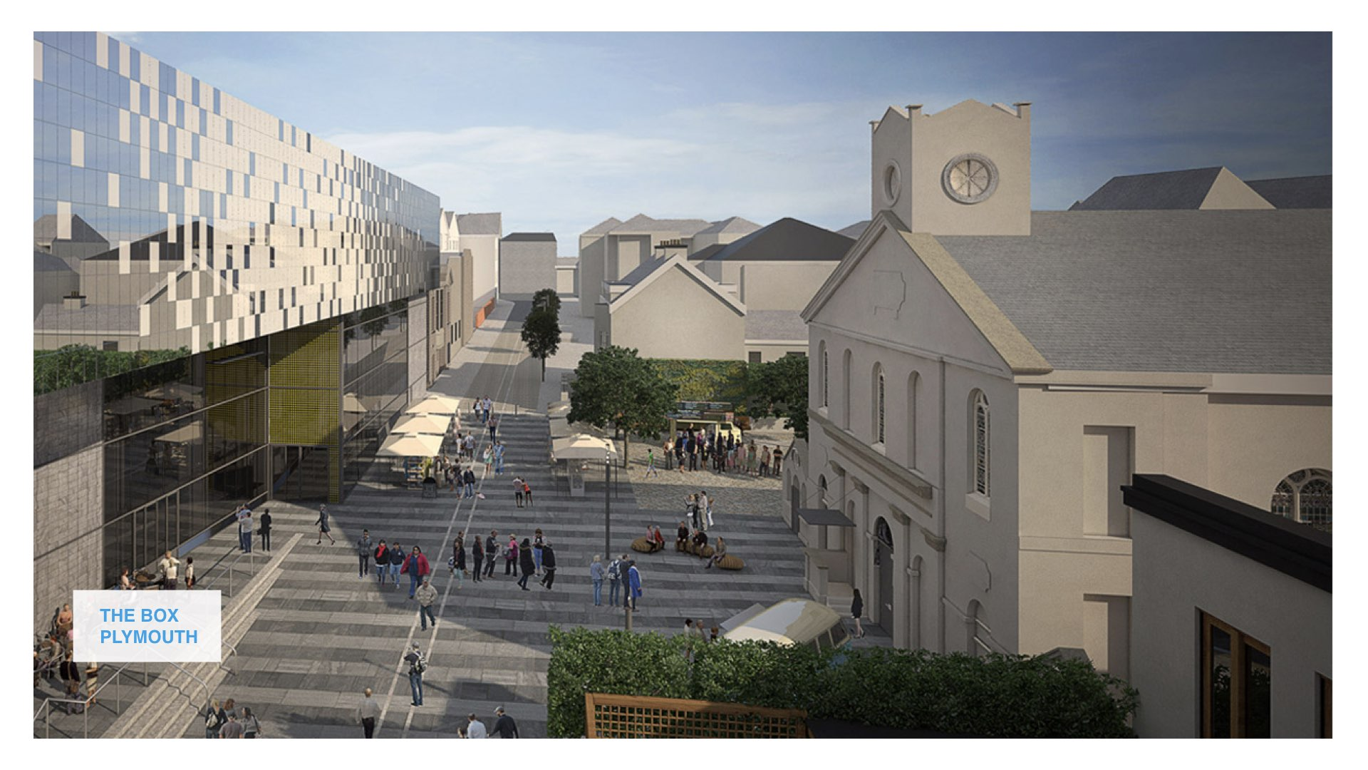 South West starts on site at Plymouth's new centrepiece arts centre